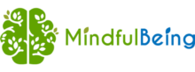 Mindful Being Brain Logo and Type